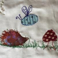 freehand machine embroidery art and learn to 'draw' with the machine., Stroud, Gloucestershire, creative, textiles, courses, workshop, freehand machine embroidery and learn to 'draw' with the machine. Stroud international Textiles Festival, SIT.